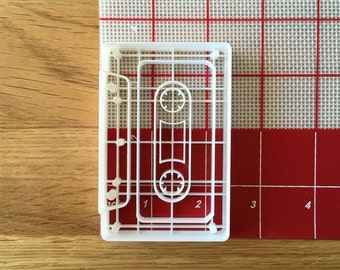 Cassette Tape Cookie Cutter Stamp