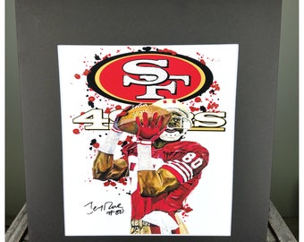 NFL Artwork - Jerry Rice - San Francisco 49ers