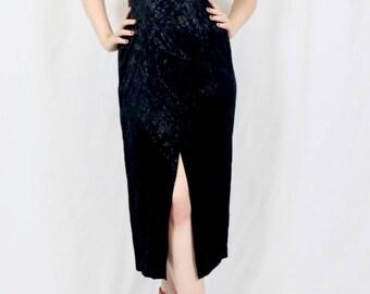 Dawn Joy Black Chinese Style Dress Size 6