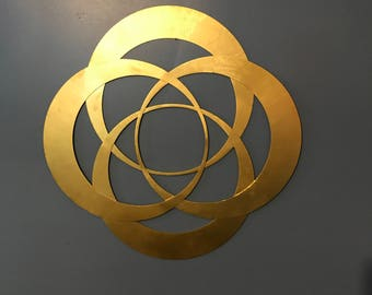 Double Vesica Piscis wall art