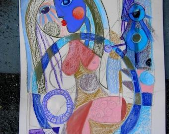 Prostitute (2016) Original Painting