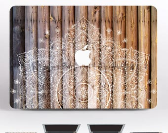 Mandala MacBook 15 MacBook Pro Skin MacBook Air 13 Decal Laptop Cover Marble Case 12 MacBook Wood Pro Retina 13 Sleeve MacBook Air DR111