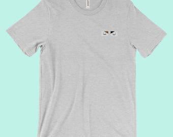 Dan and Phil Emoji Tumblr Aesthetic Shirt Clothing Heather Gray Black or White Minimalist