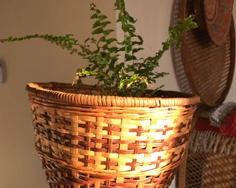 Beautiful wicker basket