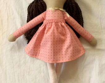 All Hearts Handmade Doll