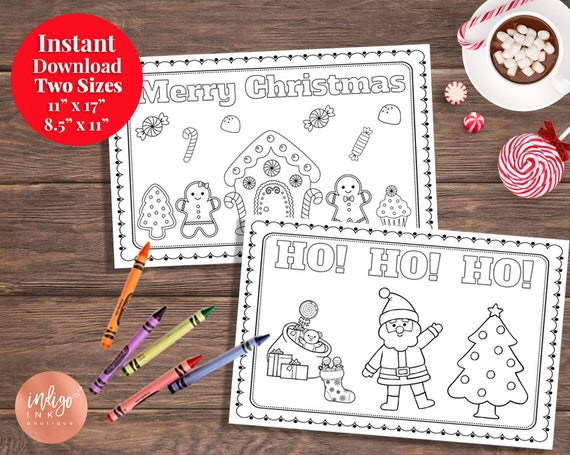 kids christmas placemat kids placemat christmas fun kids