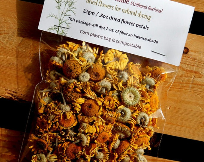 Dyer's Chamomile dried flowers