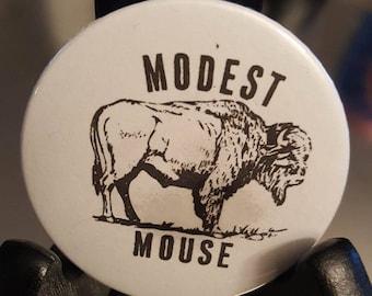"Modest Mouse Buffalo Pinback Button 2.25"""