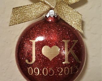 Personalized Couple Ornament
