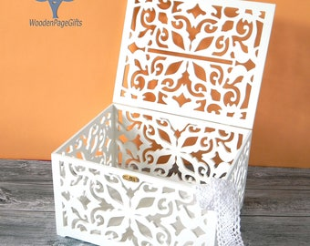 Wooden wedding card box Wedding Card Holder fall decor Wedding Gift Card Box Wooden Money Box Wedding Keepsake Box Wedding signs