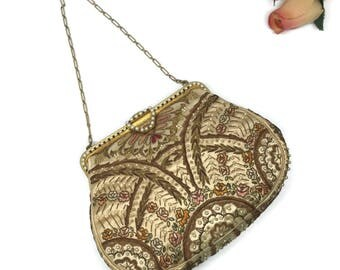 Antique Victorian French Evening Bag