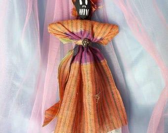 Spirit Doll Voodoo Doll Poppet Good Luck Charm Feminine Power New Orleans Inspired Good Luck Positive Energy Art Doll