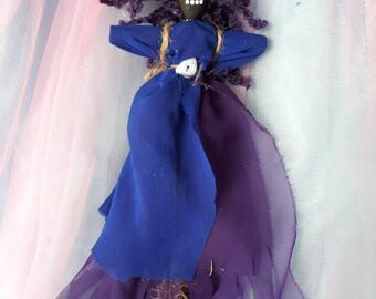 Voodoo Doll Handmade Authentic New Orleans Inspired Art Doll Voodoo, spanish moss, one of a kind, poppet, love and romance