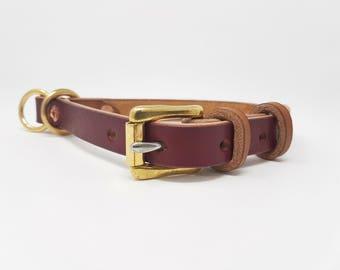 Leather Martingale/Limited Slip Dog Collar
