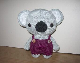 Handmade Crochet Toy, Soft Toy, Stuffed Animal, Amigurumi Koala - Gus