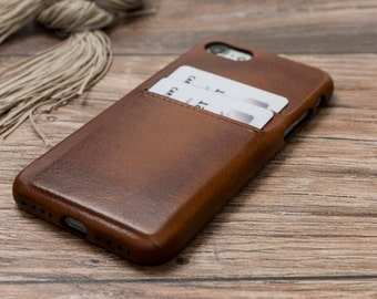 Brown iPhone 7 Case, Leather iPhone 7 Case, iPhone 7 Plus Case, Leather iPhone 7 Plus Case, Leather iPhone Case, iPhone 7 Brown Case #PAYT