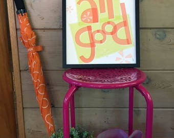 It's All Good Hand-lettered Print