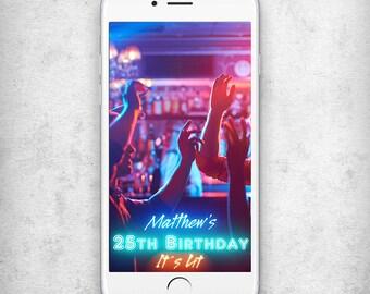 25th Birthday snapchat geofilter It's lit geofilter snapchat Birthday snapchat filter Neon snapchat geofilter Geofilter birthday snapchat