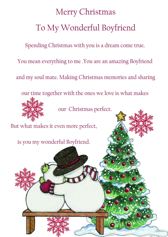 Boyfriend christmas card cute zoom m4hsunfo
