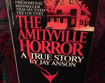 The Amityville Horror: A True Story by Jay Anson - 1978 paperback