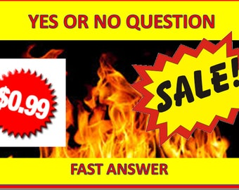 PSYCHIC READING yes or no same day answer