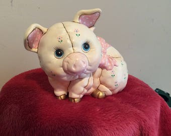 Vintage Lefton Piggy Bank   #355