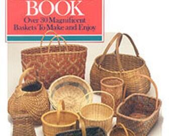 The Basket Book - digital download, book on basket making, weaving, how-to make baskets