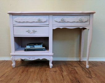 Shabby Chic French Provincial Desk/Vanity