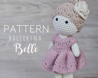PDF Crochet Pattern: Ballerina Belle
