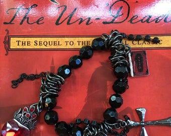 Dracula charm bracelet