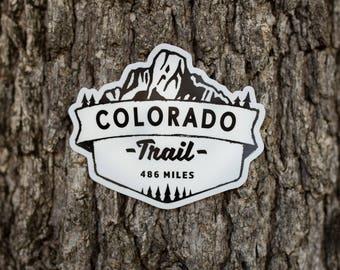 Colorado Trail Vinyl Sticker