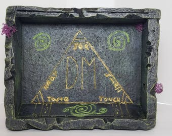 DnD Dice Tray Made for a DM / Dungeon Master Tools / Tabletop RPG / Dungeons and Dragons / Dice Box / Dice Rolling Box / Pathfinder
