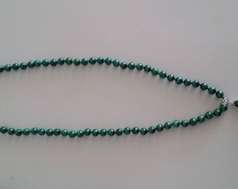 Malachite Necklace with Pendant