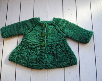 Cardigan for Waldorf Doll. Clothes for Waldorf Doll