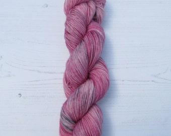 "4 Ply ""Moonstone""hand dyed sock yarn."