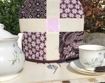 how to make a patchwork tea cosy