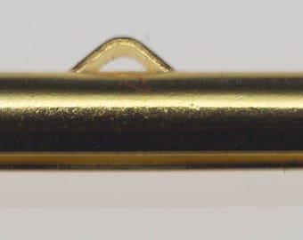 Slider Ends 19MM Gold 10pc
