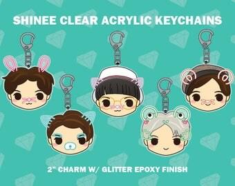 SHINee Acrylic Charms