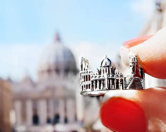 Dainty Ring silver ring Custom Name Rings Skyline Location Ring Coordinates ring Vacation Italy Latitude Longitude Travel gift for her Rome