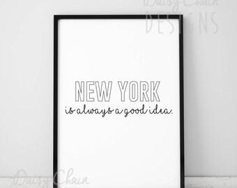 NYC Modern Print