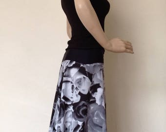Argentine tango skirt small to medium size