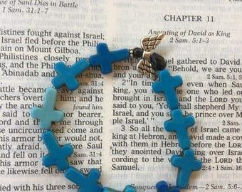Angel and cross bracelets!