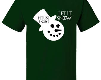 Game of Thrones Inspired Let it Snow Christmas T-Shirt