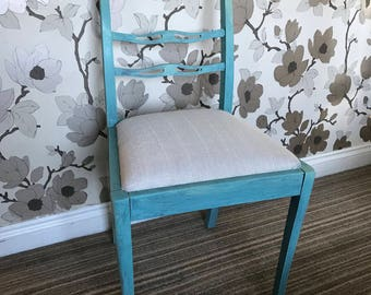 Lovely little hand painted occasional chair