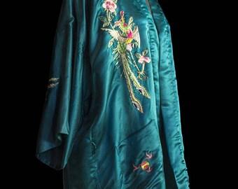 Vintage Kimono 100% silk