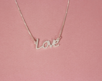 Love necklace, Couples necklace, Lovers necklace, Necklace for couples, Love pendant necklace
