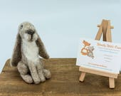 Needle felted hare - hand...