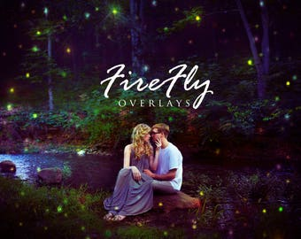 Firefly Photoshop Overlay Collection, Professional Photography Bundle, Photographer Edit Tool, Magical Edit, Fairy Editing, Sparkle
