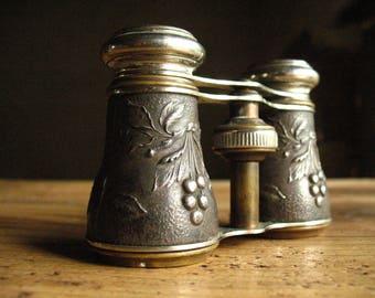 Opera Glasses, mini binoculars, French, art nouveau 1900