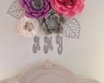 Set of 4 Flowers